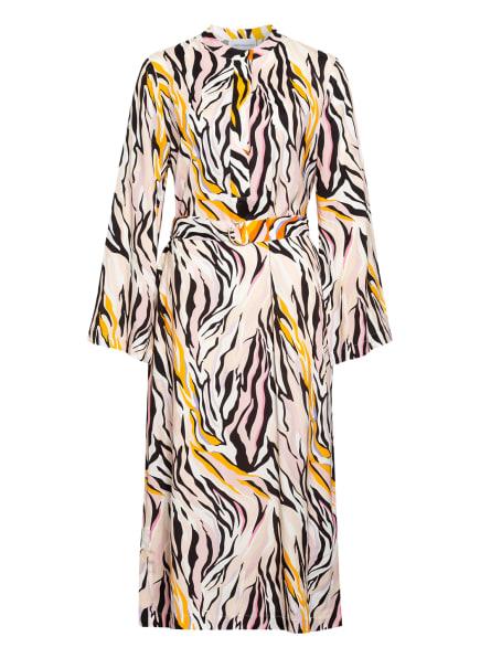 herzensangelegenheit Kleid, Farbe: WEISS/ DUNKELGELB/ SCHWARZ (Bild 1)