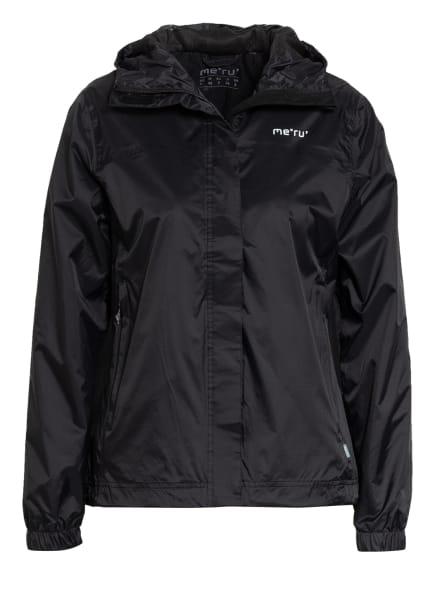 me°ru' Outdoor-Jacke AHIPARA, Farbe: SCHWARZ (Bild 1)