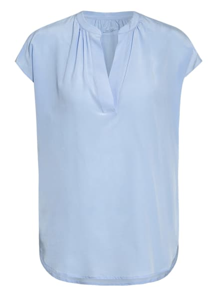 Jadicted Blusenshirt aus Seide, Farbe: HELLBLAU (Bild 1)
