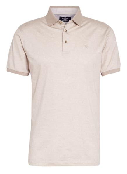 HACKETT LONDON Jersey-Poloshirt Classic Fit, Farbe: CREME/ CAMEL (Bild 1)