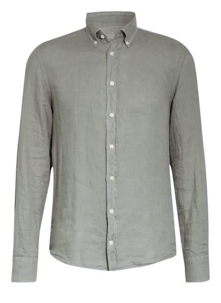 HACKETT LONDON Leinenhemd BROMPTON Slim Fit , Farbe: OLIV (Bild 1)