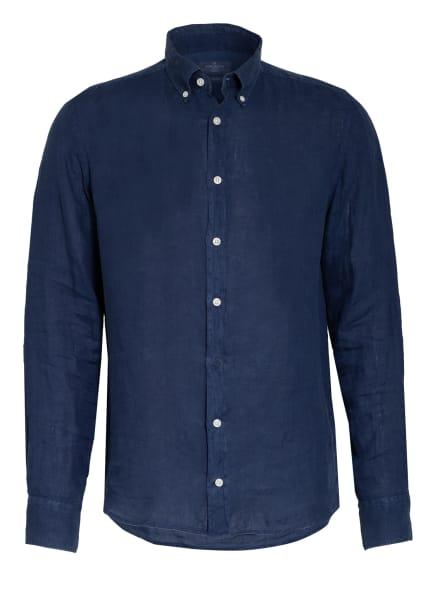 HACKETT LONDON Leinenhemd BROMPTON Slim Fit , Farbe: DUNKELBLAU (Bild 1)