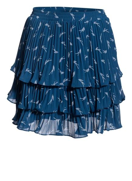 MICHAEL KORS Rock mit Volants, Farbe: PETROL/ WEISS (Bild 1)