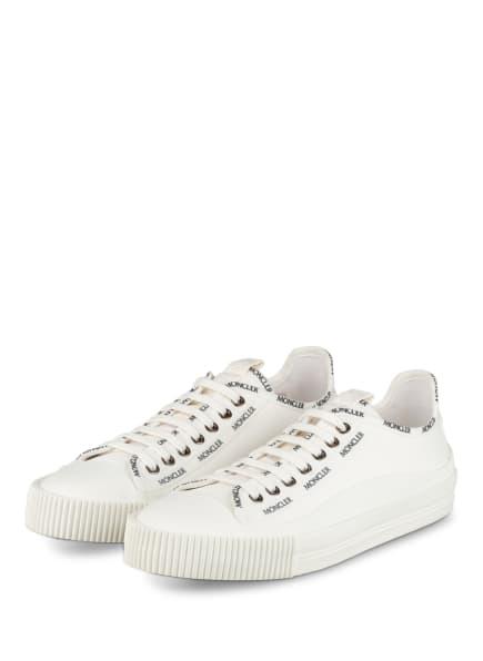 MONCLER Sneaker GLISSIERE, Farbe: WEISS (Bild 1)