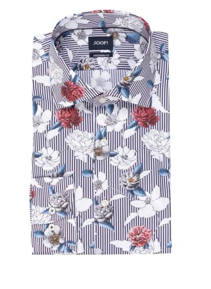 JOOP! Hemd MIKA Modern Fit, Farbe: DUNKELBLAU/ WEISS/ DUNKELROT (Bild 1)