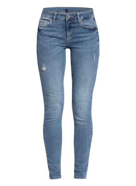 LIU JO Skinny Jeans FABULOUS, Farbe: 78109 Den.Blue start wash (Bild 1)