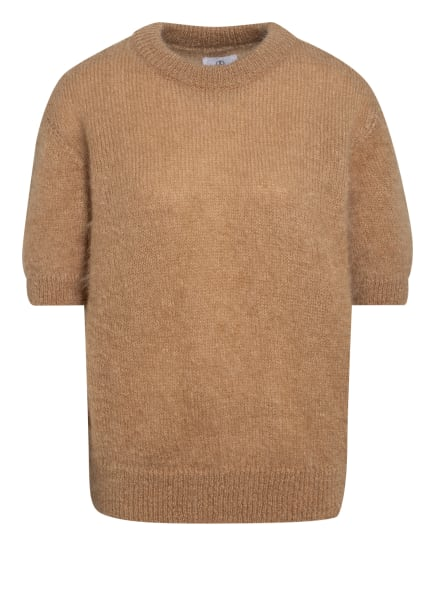 ANINE BING Oversized-Pullover COREY aus Mohair, Farbe: HELLBRAUN (Bild 1)