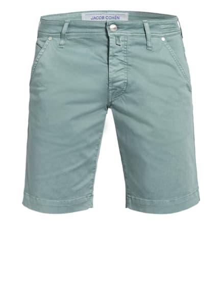 JACOB COHEN Chino-Shorts J6613 Comfort Fit, Farbe: HELLGRÜN (Bild 1)