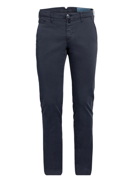 JACOB COHEN Chino Slim Fit, Farbe: DUNKELBLAU (Bild 1)