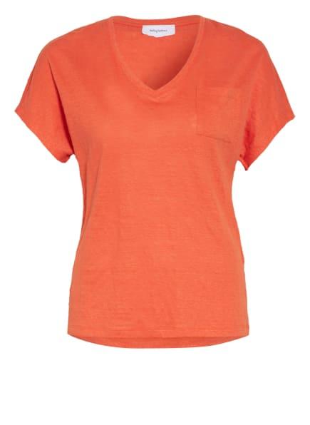 darling harbour T-Shirt aus Leinen, Farbe: ORANGE (Bild 1)