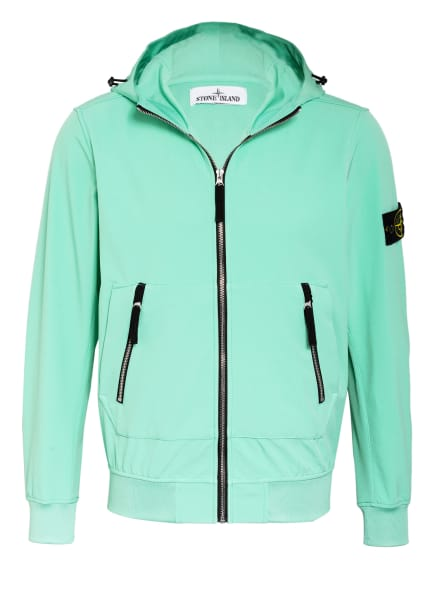 STONE ISLAND Softshell-Jacke , Farbe: MINT (Bild 1)