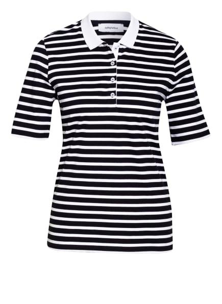 darling harbour Piqué-Poloshirt , Farbe: DUNKELBLAU/ WEISS (Bild 1)