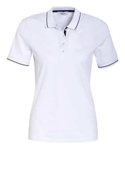 darling harbour Jersey-Poloshirt, Farbe: WEISS/ SCHWARZ (Bild 1)
