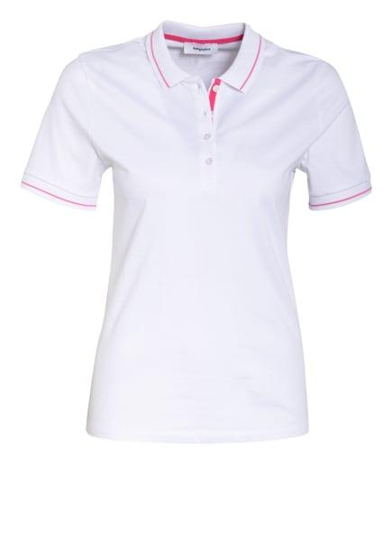 darling harbour Jersey-Poloshirt, Farbe: WEISS/ PINK (Bild 1)