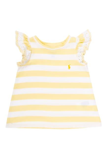 POLO RALPH LAUREN T-Shirt, Farbe: WEISS/ HELLGELB (Bild 1)