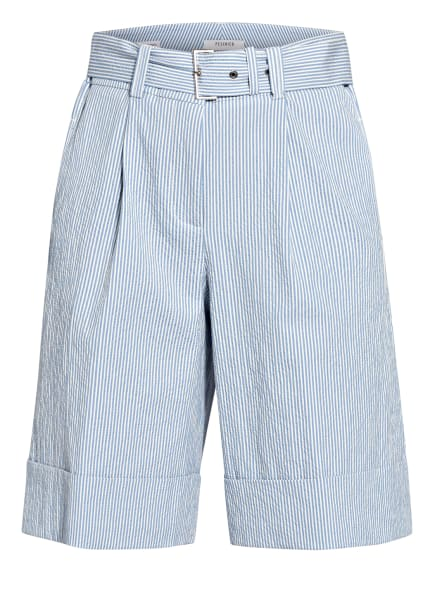 PESERICO Shorts, Farbe: WEISS/ HELLBLAU (Bild 1)