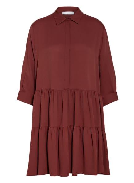 FABIANA FILIPPI Kleid mit Seide , Farbe: DUNKELROT (Bild 1)