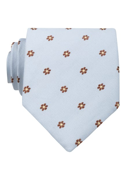ETON Krawatte, Farbe: HELLBLAU/ BRAUN/ HELLGELB (Bild 1)
