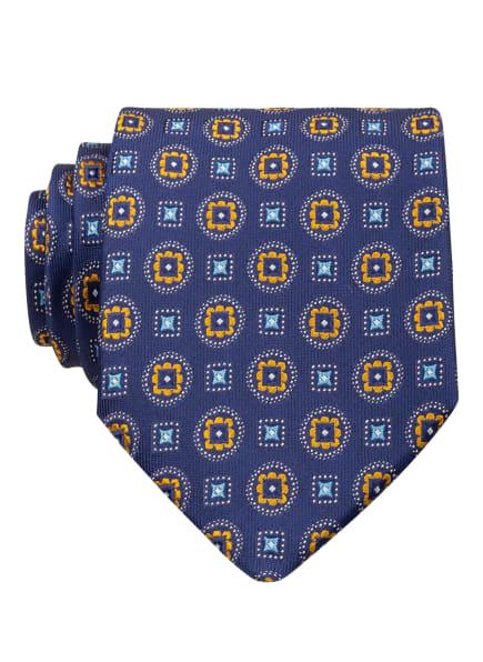 ETON Krawatte, Farbe: DUNKELBLAU/ HELLBLAU/ DUNKELGELB (Bild 1)