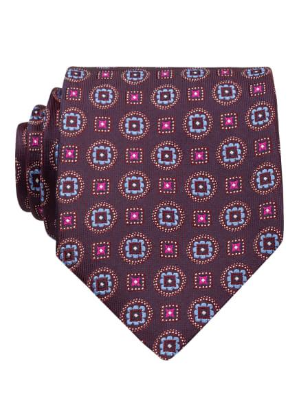 ETON Krawatte, Farbe: DUNKELLILA/ HELLBLAU/ PINK (Bild 1)