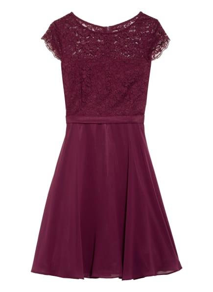 VM VERA MONT Kleid mit Lochspitze, Farbe: DUNKELROT (Bild 1)