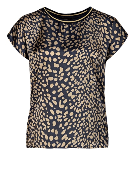 MORE & MORE Blusenshirt , Farbe: GOLD/ DUNKELBLAU (Bild 1)