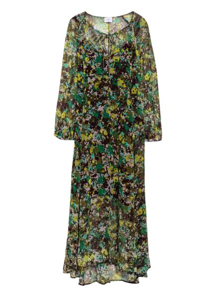 Marc O'Polo Pure Kleid, Farbe: SCHWARZ/ GRÜN/ HELLGRÜN (Bild 1)