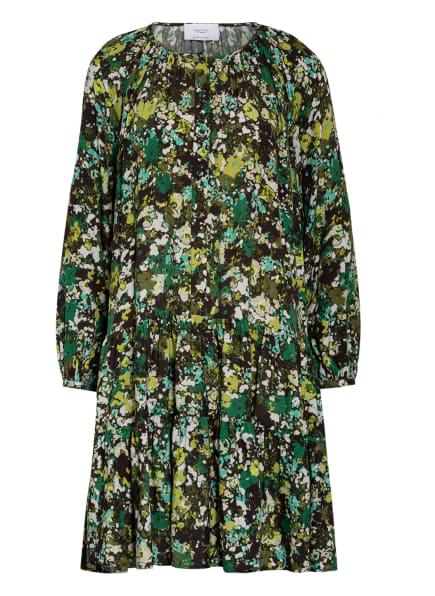 Marc O'Polo Pure Kleid , Farbe: SCHWARZ/ GRÜN/ HELLGRÜN (Bild 1)