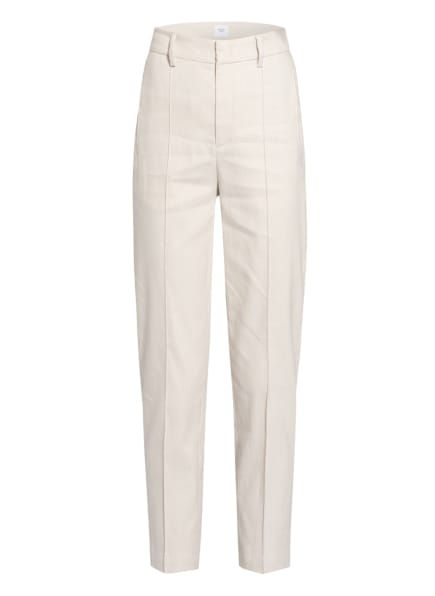 Marc O'Polo Pure 7/8-Hose mit Leinen, Farbe: CREME (Bild 1)