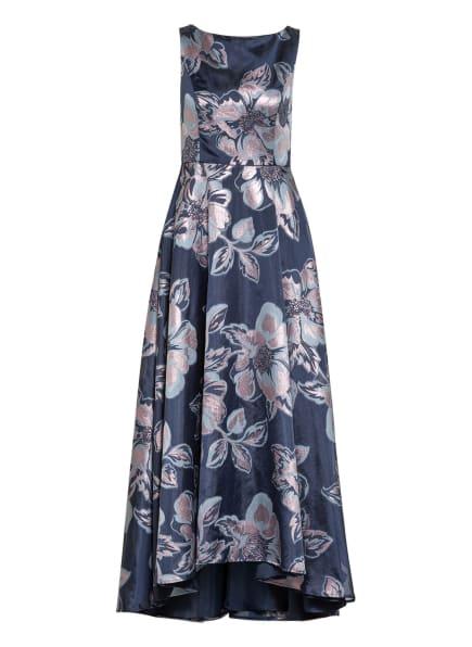 Vera Mont Abendkleid aus Brokat, Farbe: DUNKELBLAU/ BLAUGRAU/ ROSÉGOLD (Bild 1)