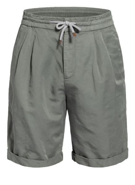 BRUNELLO CUCINELLI Shorts mit Leinen, Farbe: OLIV (Bild 1)