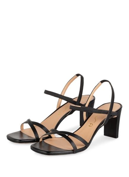 UNISA Sandaletten, Farbe: SCHWARZ (Bild 1)