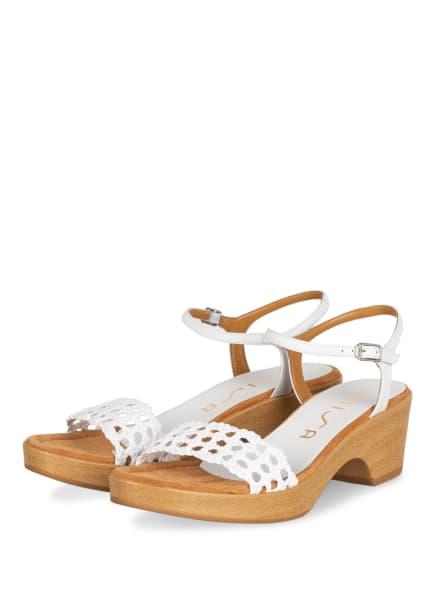UNISA Sandaletten ILOBI, Farbe: WEISS (Bild 1)
