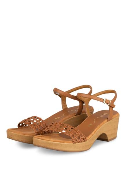 UNISA Sandaletten ILOBI, Farbe: HELLBRAUN (Bild 1)