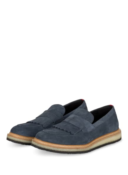 HUGO Loafer KIREN, Farbe: DUNKELBLAU (Bild 1)