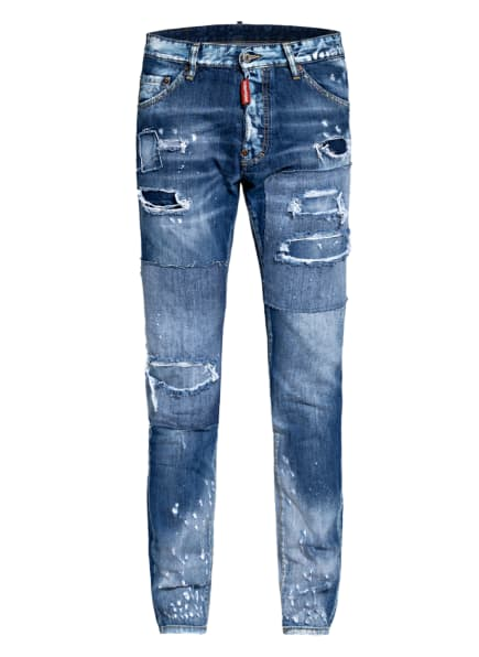 DSQUARED2 Destroyed Jeans COOL GUY, Farbe: 470 BLUE (Bild 1)