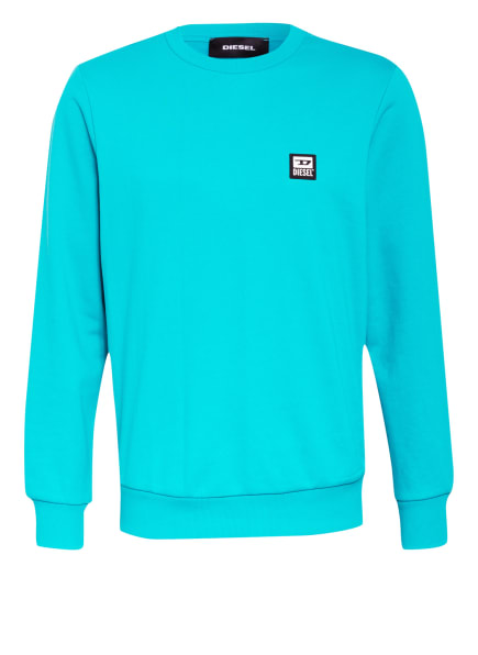 DIESEL Sweatshirt, Farbe: TÜRKIS (Bild 1)