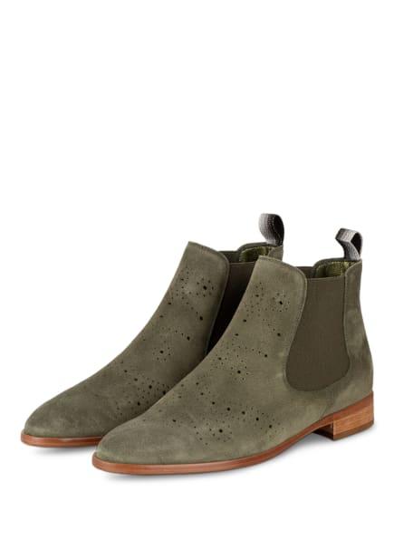 Pertini Chelsea-Boots, Farbe: OLIV (Bild 1)