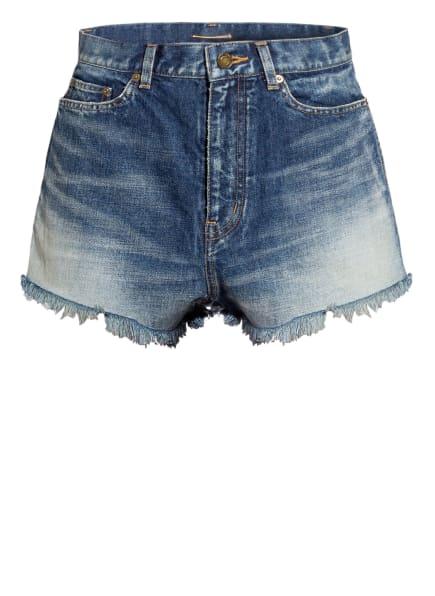SAINT LAURENT Jeans-Shorts , Farbe: 4019 STAR LIGHT BLUE (Bild 1)
