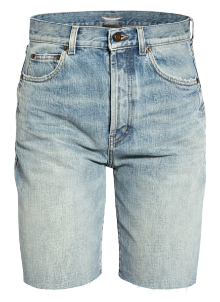 SAINT LAURENT Jeans-Shorts, Farbe: 4986 LIGHT WINTER BLUE (Bild 1)