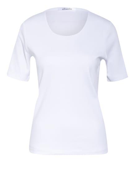 efixelle T-Shirt mit Perlenbesatz, Farbe: WEISS (Bild 1)