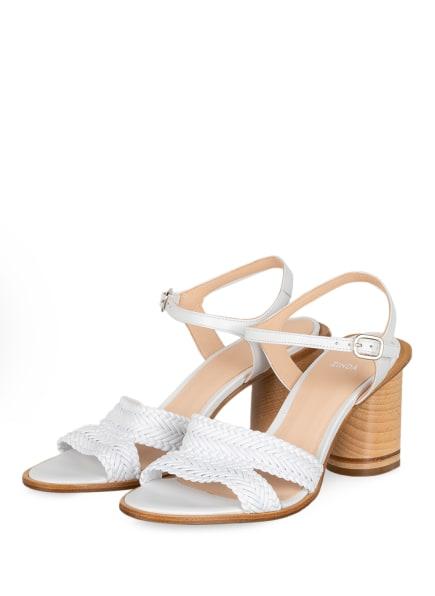 ZINDA Sandaletten , Farbe: WEISS (Bild 1)