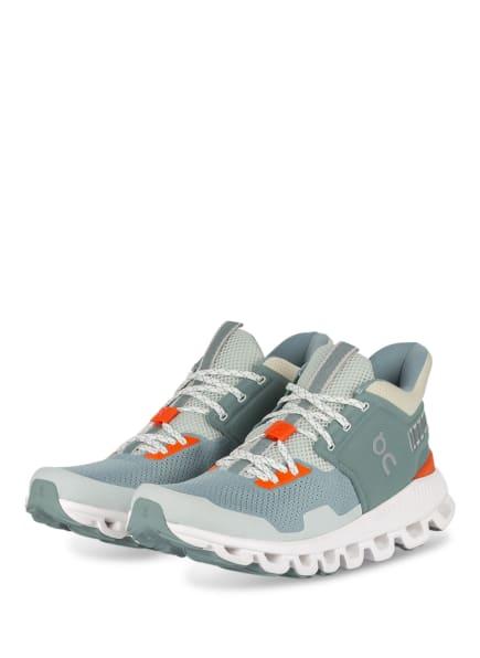 On Running Sneaker HI EDGE, Farbe: ORANGE/ MINT (Bild 1)