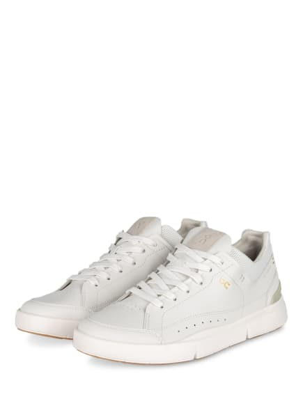 On Running Sneaker THE ROGER CENTRE COURT, Farbe: WEISS/ OLIV (Bild 1)