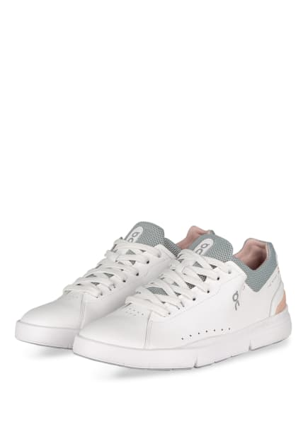 On Running Sneaker THE ROGER ADVANTAGE , Farbe: WEISS/ ROSÉ/ GRAU (Bild 1)