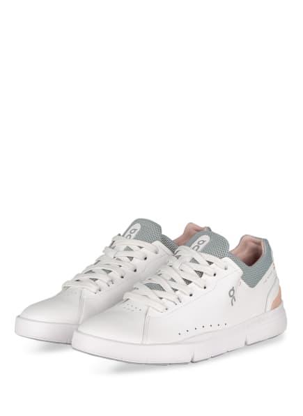 On Sneaker THE ROGER ADVANTAGE , Farbe: WEISS/ ROSÉ/ GRAU (Bild 1)