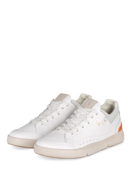 On Sneaker THE ROGER CENTRE COURT, Farbe: WEISS/ DUNKELORANGE (Bild 1)