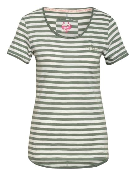 LIEBLINGSSTÜCK T-Shirt CIA, Farbe: WEISS/ GRÜN (Bild 1)