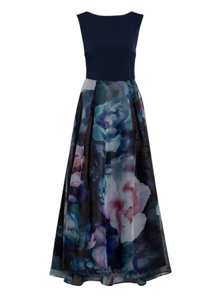SWING Abendkleid , Farbe: DUNKELBLAU/ GRÜN/ ROSA (Bild 1)