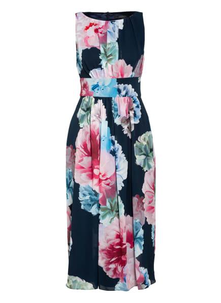 SWING Kleid , Farbe: DUNKELBLAU/ ROSA/ GRÜN (Bild 1)